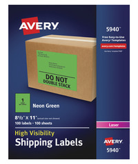 Shipping Labels, Item Number 1532929
