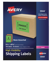 Shipping Labels, Item Number 1532930
