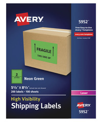 Shipping Labels, Item Number 1532933