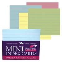 Index Cards, Card Binders, Item Number 1534152