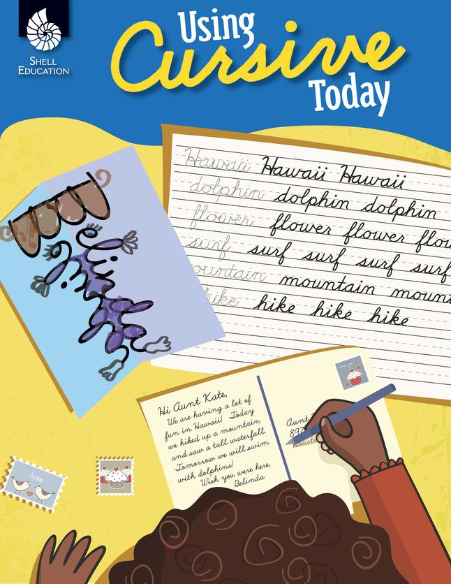 Handwriting Practice Activities, Cursive Writing Practice, Cursive Writing Workbook Supplies, Item Number 1534571