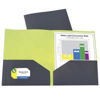 Poly 2 Pocket Folders, Item Number 1536830