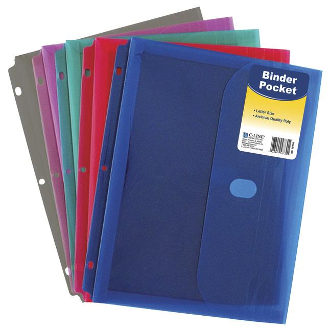 Binder Pockets, Item Number 1536838