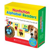 Scholastic Nonfiction Alphabet Readers, Grades PreK to 2 Item Number 1538258