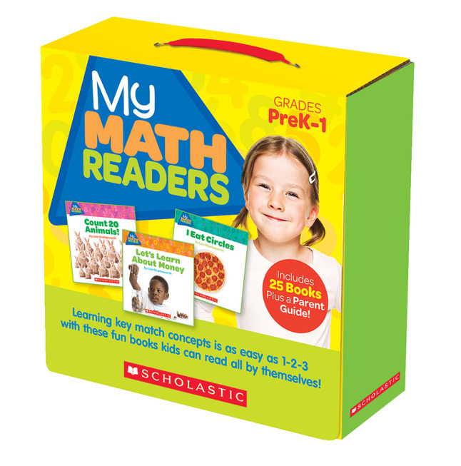 Math Reader Sets, Book Libraries Supplies, Item Number 1538296