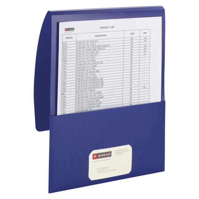 Poly 2 Pocket Folders, Item Number 1538471