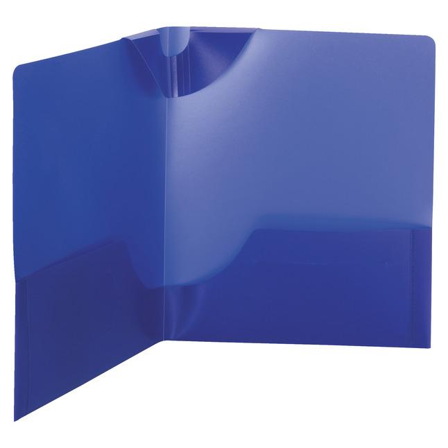 Poly 2 Pocket Folders, Item Number 1538473
