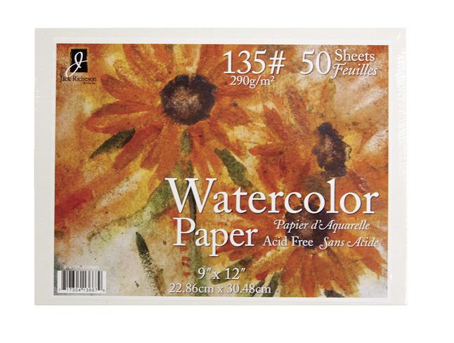 Watercolor Paper, Item Number 1540149