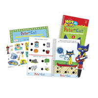 Hot Dots Jr. Pete the Cat I Love Kindergarten! Set, Ages 5 and Above Item Number 1540425