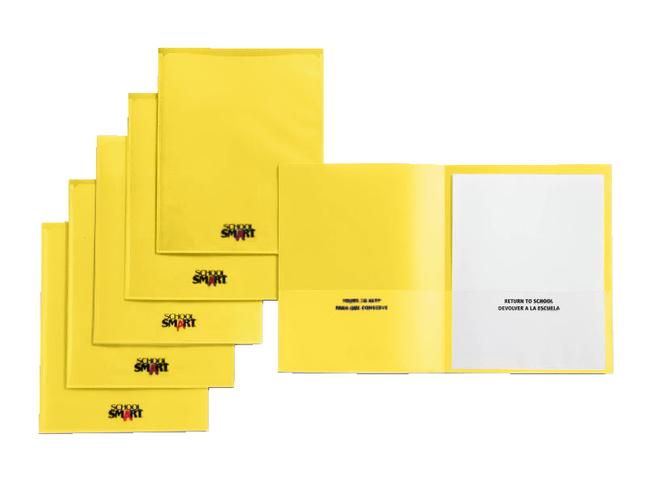 2 Pocket Folders , Item Number 1540636