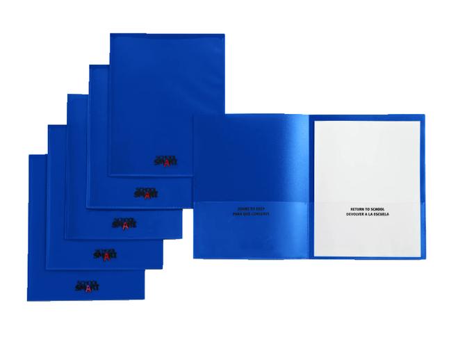 2 Pocket Folders , Item Number 1540637