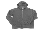 Covered In Comfort Weighted Hooded Sweatshirt, Large, Gray Item Number 1543216