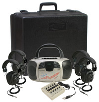 Califone 4-Person Spirit Listening Center, 1776PLC Item Number 1544109