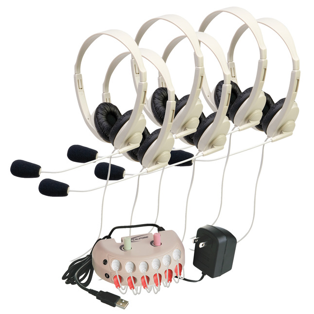 Listening Center Accessories, Jackbox, Audio Caddy Supplies, Item Number 1544122