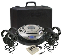 Califone Spirit 6-Person Listening Center, 1886PLC-6 Item Number 1544127