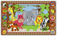 Animals, Nature Carpets And Rugs Supplies, Item Number 1549578
