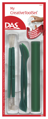 DAS My Creative Clay Tools, Set of 5 Item Number 1554452