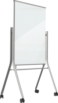 Best-Rite Visionary Curve Mobile Magnetic Glass Whiteboard Item Number 1561820