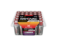 Rayovac Fusion Advanced Alkaline AA 30-PK Item Number