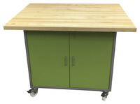 Image for Interior Concepts Tech Lab Cart, 4 x 3 x 3-1/2 Feet, Various Options from School Specialty