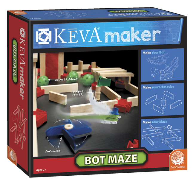 Image for Mindware Keva Maker Bot Maze from School Specialty