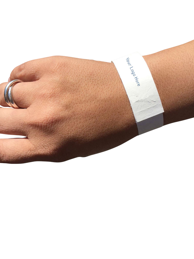 photograph relating to Printable Wristbands called Baumgartens Laser Printable Wristbands