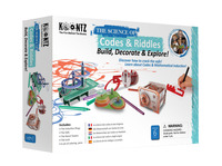 Image for Koontz The Science of Codes and Riddles Kit from SSIB2BStore