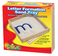 Image for Primary Concepts Letter Formation Sand Tray, 8 x 8 inches from SSIB2BStore