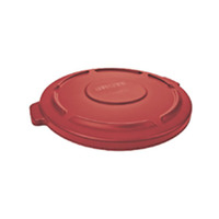 Rubbermaid Commercial BRUTE Garbage Can Lid 32 Gallon, Red Item Number 1568922