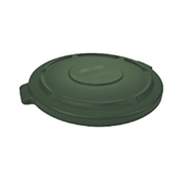 Rubbermaid Commercial BRUTE Garbage Can Lid 32 Gallon, Dark Green Item Number 1568923