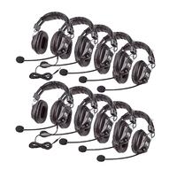 Califone 3068MT-10L Headsets, Set of 10 Item Number 1569016