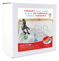 Sandtastik Therapy Play Sand, 25 Pounds, White Item Number 1585332