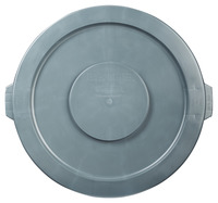 Rubbermaid Commercial BRUTE Garbage Can Lid, 32 Gallon, Gray Item Number 1569629