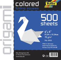 Origami Paper, Origami Supplies, Item Number 1569933