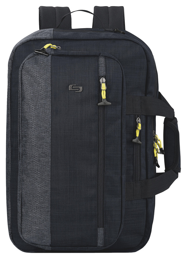 Us Luggage Velocity Hybrid Backpack Holds 15 6 In Laptop Blue Gray