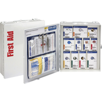Image for First Aid Only Class A First Aid Cabinet, ANSI Medium Metal, White from School Specialty