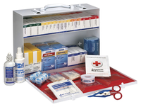 Image for First Aid Only First Aid Station, ANSI 2-Shelf, White from School Specialty