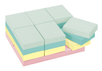 Image for Post-it Notes, 1-1/2 x 2 Inches, Marseille Colors, 24 Pads with 100 Sheets Each from School Specialty