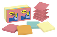 Image for Post-it Pop Up Notes, 3 x 3 Inches, Capetown Colors, 14 Pads with 100 Sheets from School Specialty