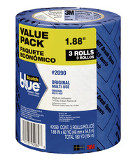 Image for ScotchBlue 2090 Original Multi-Use Painter's Tape, 1.88 Inches x 60 Yards, 3 Rolls from School Specialty