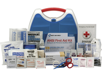 Image for First Aid Only 260-pc Large First Aid Kit, ANSI A, 260-Pcs, White/Blue from School Specialty