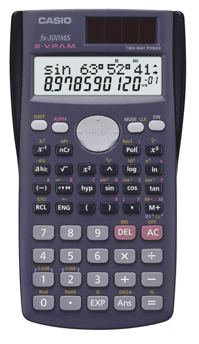 Scientific Calculators, Item Number 2015007
