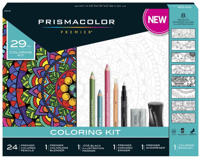 Prismacolor Premier Colored Pencil Adult Coloring Set