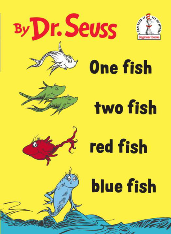 Childcraft Exclusive Dr. Seuss Read-Along Set, 4 Books with CD, Grades PreK  to K, Set of 4