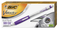 Image for BIC Velocity Side Clic Mechanical Pencil, 0.7 mm, Pack of 12 from School Specialty