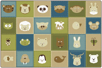 Quiet Time Animal Rug, Item Number 1576134