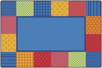 Pattern Blocks Rug, Item Number 1576140