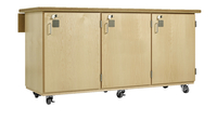 Image for Diversified Woodcrafts Robotics Workbench, 72 x 28 x 37 Inches, Maple Top from School Specialty