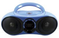 HamiltonBuhl AudioMVP Boombox CD/FM Media Player with Bluetooth Receiver Item Number 1583560