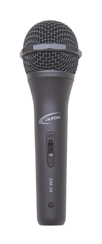 Califone Wired Microphone with XLR Plug Item Number 1583819